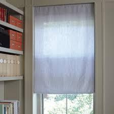 Tension Rod Curtains Diy Custom Window Shade Martha Stewart