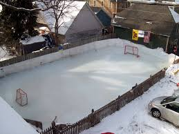 How To Build A Ice Rink In Your Backyard Backyard Rinks