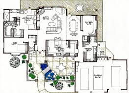 Green House Floor Plan by Rustic Passive Solar Home