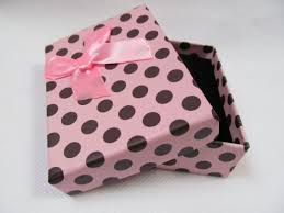 polka dot gift boxes buy 5 x small sized high quality spotted baby pink polka dots with