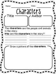 freebie story elements graphic organizer literacy pinterest
