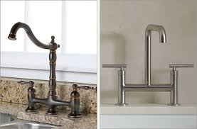 bridge style kitchen faucet brilliant fabulous rohl kitchen faucet with polished nickel