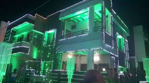 Wedding Home Decoration Home Wedding Lighting Decorations Youtube