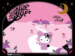 cute happy halloween wallpaper hello kitty halloween backgrounds wallpapersafari