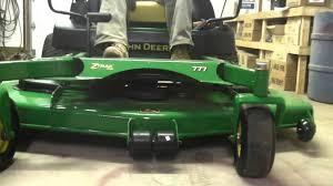 john deere 777 commercial zero turn hydro rider lawn mower