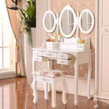 Shabby Chic Vanity Table by Shabby Chic Dressing Table Vanity Makeup Table Storage With Mirror