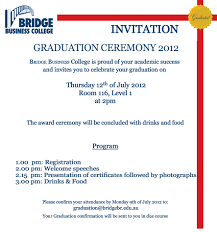 Graduation Invite Cards Graduation Ceremony Invitation Kawaiitheo Com