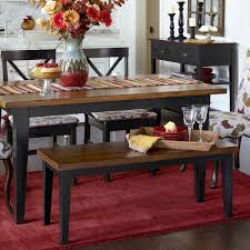 also in straight leg style pier 1 carmichael bench rubbed black