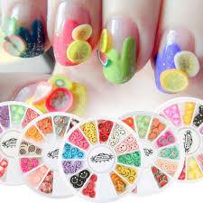 aliexpress com buy perfect summer fimo slice 3d nail art