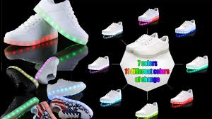 light up shoes that change colors 2015 new simulation fashion sneakers 11 different colors of change