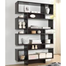 Dark Bookcase Bookcase 8 Bookcases Home Office Furniture The Home Depot