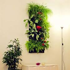 plant wall hangers indoor 7 pocket indoor outdoor wall hanging planter bags plant grow bags