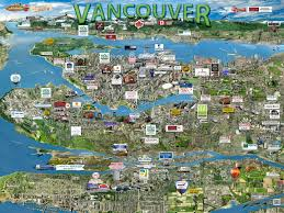 Florida Tech Map by Vancouver Map Silicon Maps
