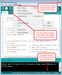 risc v mips software hardware arduino fpga stack