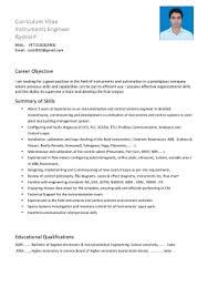 Instrumentation Project Engineer Resume Engineer Resume