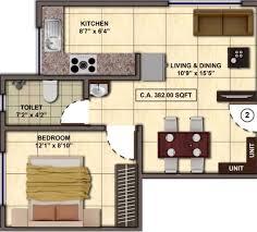 the burrow floor plan kumar kul radiance in bandra east mumbai price location map