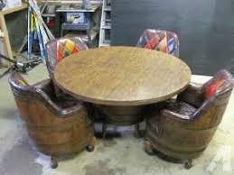 whiskey barrel table for sale wine barrel chairs for sale whiskey barrel furniture for sale