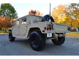 armored hummer 1985 hummer h1 for sale classiccars com cc 1039741
