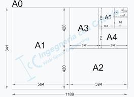 Carta Formato A4 Dimensioni