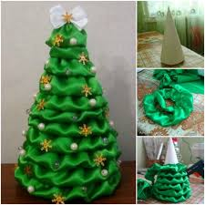christmas mesh ribbon wonderful diy mesh ribbon christmas tree fabric christmas trees