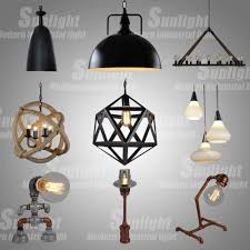 Hanging Industrial Lights by Modern Steel Vintage Conduit Hanging Industrial Glass Wall Light
