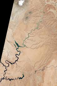 Lake Powell Map Lake Powell Half Empty Image Of The Day