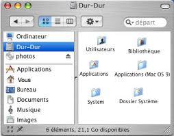 afficher disque dur bureau mac organisation du disque dur