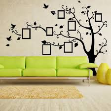 Tree Wall Decals For Living Room X Large Room Photo Frame Decoration Family Tree Wall Decal Sticker