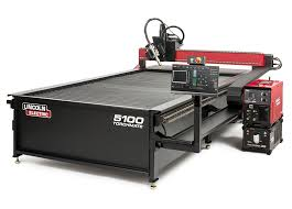 cnc plasma cutting table lincoln electric torchmate 5100 industrial cnc plasma cutting