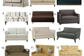 Average Loveseat Size Small Space Seating Sofas U0026 Loveseats Under 60 Inches Wide