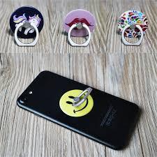 support de bureau pour smartphone vodex ronde téléphone titulaire anneau avec anti chute téléphone