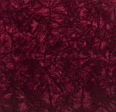 Red Wine Upholstery Crush Velvet Upholstery Fabric