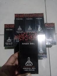 jual agen resmi titan gel 100 asli toko ahong semarang tokopedia
