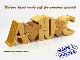 Personalized Wooden Gifts Name Puzzles And Other Great Personalized Gift Ideas