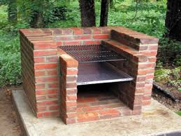build brick bbq pit