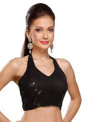 halter neck blouse 40 saree blouse designs and patterns that will amaze you