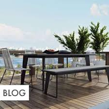 Modern Outdoor Furniture  Accessories YLiving - Modern outdoor sofa sets