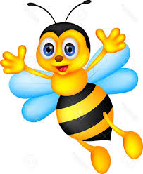 best vector illustration of funny bee cartoon stock file free
