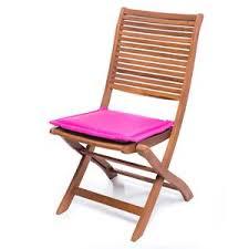 cuscini per poltrone da giardino cuscino da esterno fucsia per sedia in legno materiale imbottito