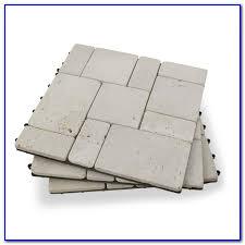 travertine stone deck tiles decks home decorating ideas