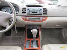 02 toyota camry xle 2002 toyota camry xle v6 taupe dashboard photo 60612178