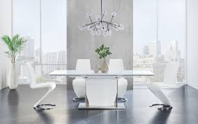 modern glass dining kitchen tables allmodern