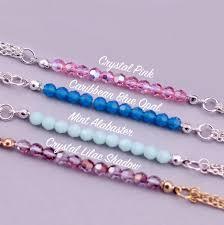 crystal charm bracelet beads images Charm bracelet made with swarovski crystals by j s jewellery jpg