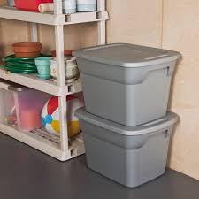 sterilite storage home depot black friday sterilite grey 18 gallon 72 quart storage box walmart com