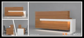 Modern Office Reception Desk Furniture Modern Ebay Reception Desk With Light Accent For Modern