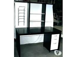 bureau blanc moderne bureau noir et blanc d licieux bureau blanc et noir ado design yump4