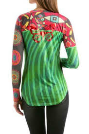 desigual maxin long sleeve t shirt from hawaii by hurricane