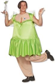 Funny Male Halloween Costumes Tankerbell Fat Male Tinkerbell Fairytale Funny Men Costume Std Ebay