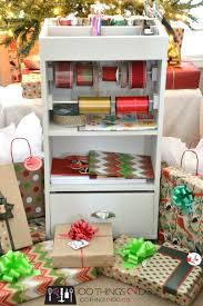 gift wrap cart perfectly coordinated gift wrap 100 things 2 do