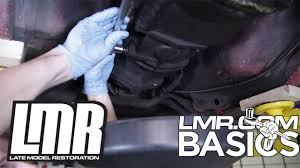 how to change mustang transmission fluid lmr basics youtube